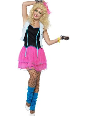 Adult 80s Wild Girl Costume