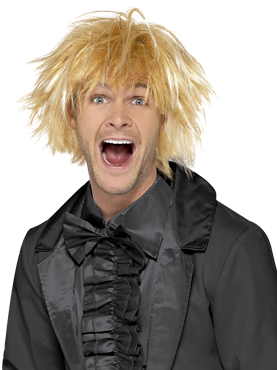 Adult 90s Messy Surfer Guy Wig Couples Costume
