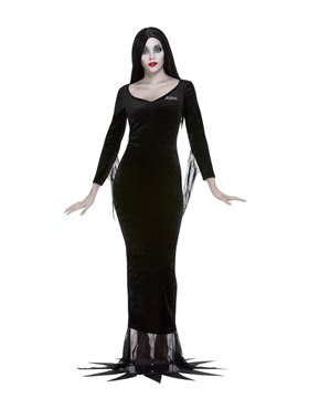 Adult Addams Family Morticia Costume Couples Costume