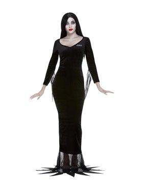 Adult Addams Family Morticia Costume