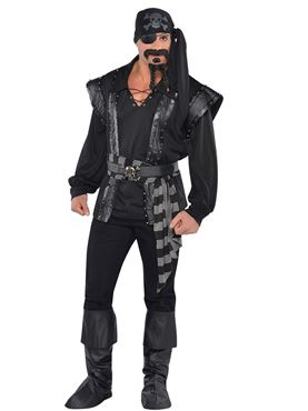Adult Dark Sea Scoundrel Costume