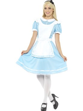 Adult Alice Wonder Princess Costume