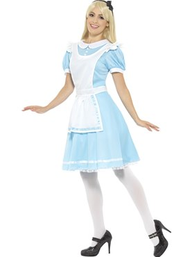 Adult Alice Wonder Princess Costume - Back View
