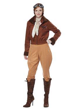 Adult Amelia Earhart Aviator Costume