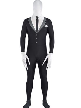 Adult Slender Man Party Suit Costume
