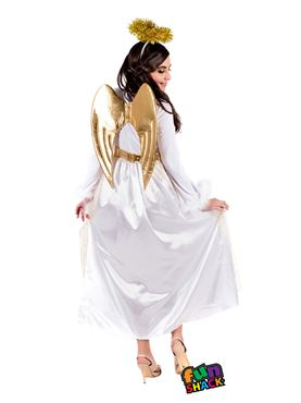 Adult Angel Costume - Back View