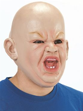 Adult Angry Baby Mask  sc 1 st  Fancy Dress Ball & Adult Angry Baby Mask - BM403 - Fancy Dress Ball