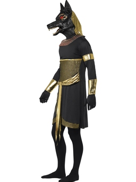 Adult Anubis the Jackal Costume - Back View