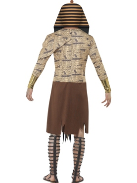 Adult Zombie Pharaoh Costume - Side View