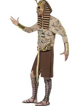 Adult Zombie Pharaoh Costume - Back View