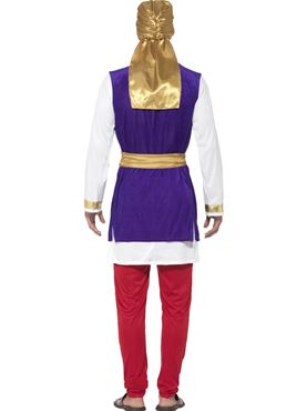 Adult Arabian Prince Costume - Side View