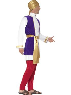 Adult Arabian Prince Costume - Back View