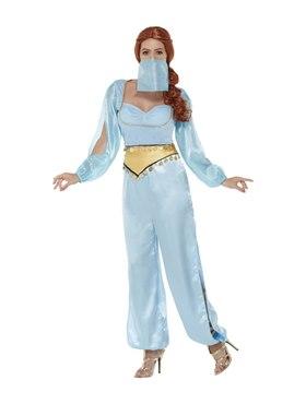 Adult Arabian Princess Costume - Back View