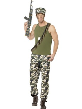 Adult Army Man Costume Thumbnail