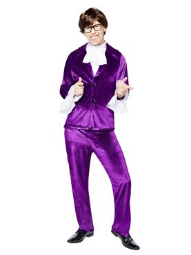 Adult Austin Powers Costume - Side View