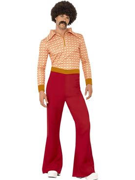 Adult Authentic 70s Guy Costume