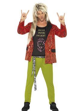 Adult 80s Rock Star Costume
