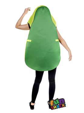 Adult Avocado Costume - Back View
