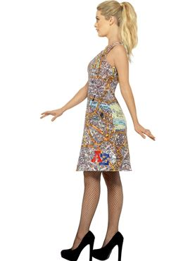 Adult A-Z Dress - Back View