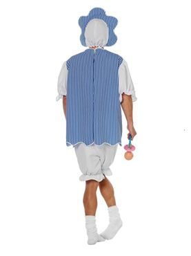 Adult Baby Boy Costume - Side View