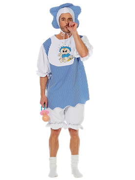 Adult Baby Boy Costume Thumbnail