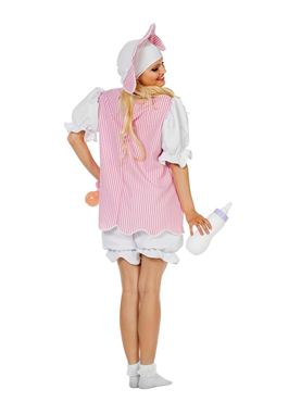 Adult Baby Girl Costume - Side View