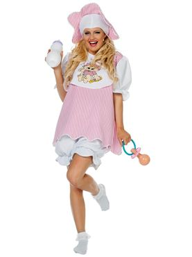 Adult Baby Girl Costume
