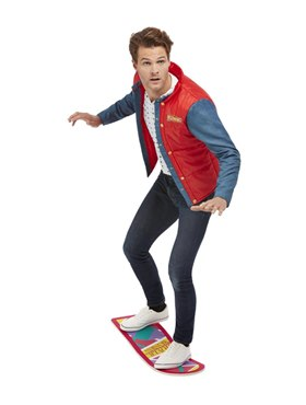 Adult Back to the Future Marty McFly Costume - Back View