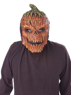 Adult Bad Seed Ripper Pumpkin Mask