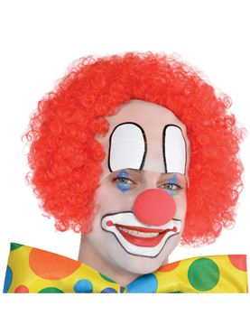 Adult Baldy the Clown Wig