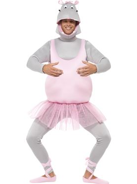 Adult Ballerina Hippo Costume
