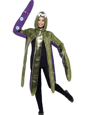 Adult Octopus Costume - Back View