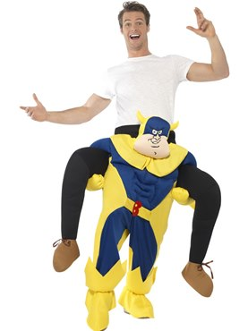 Adult Bananaman Piggy Back Costume