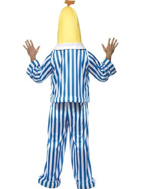 Adult Bananas in Pyjamas Costume - Side View