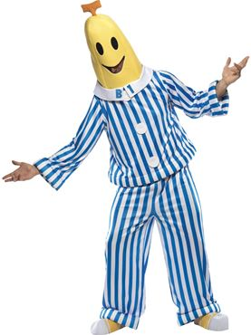 Adult Bananas in Pyjamas Costume