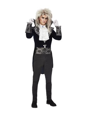 Adult Baroque Goblin King Costume - Back View