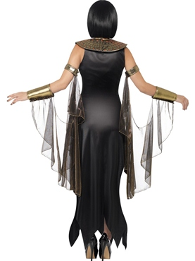 Adult Bastet the Cat Goddess Costume - Side View