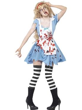 Adult Zombie Malice Costume