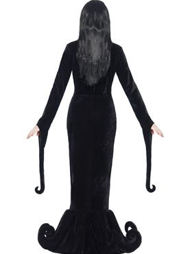 Adult Morticia Duchess of the Manor Costume - Side View