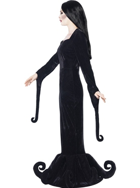 Adult Morticia Duchess of the Manor Costume - Back View