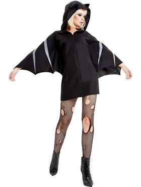 Adult Bat Costume - Back View
