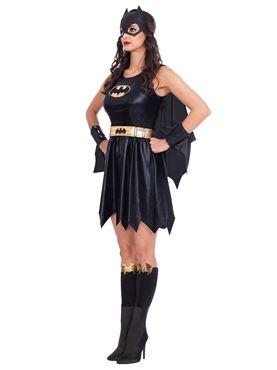 Adult Batgirl Classic Womens Costume - Back View