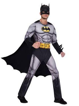 Adult Batman Classic Mens Costume - Side View