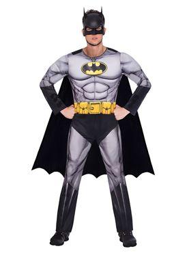 Adult Batman Classic Mens Costume - Back View