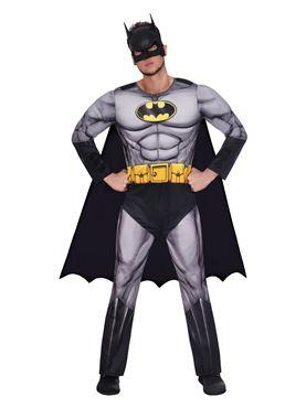 Adult Batman Classic Mens Costume Couples Costume