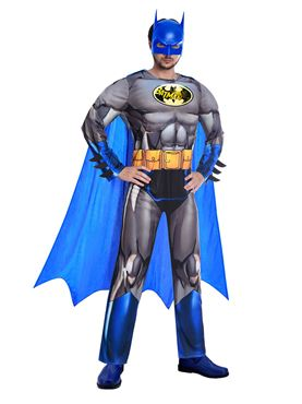 Adult Batman The Brave & The Bold Costume - Back View