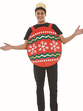 Adult Bauble Costume