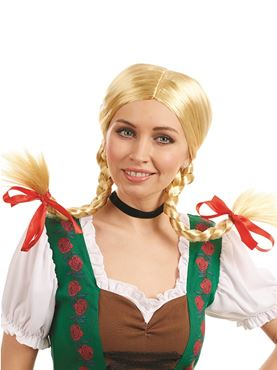 Adult Bavarian Girl Wig