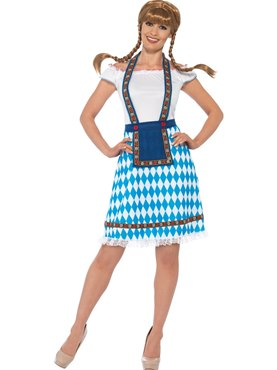 Adult Bavarian Maid Costume
