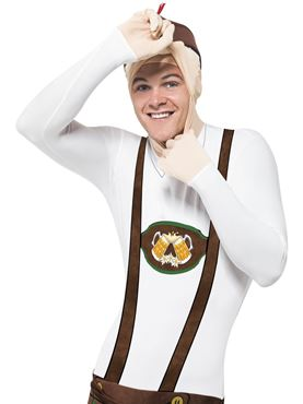Adult Bavarian Second Skin Costume - Side View